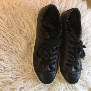 Shoes - Coach black sneakers
